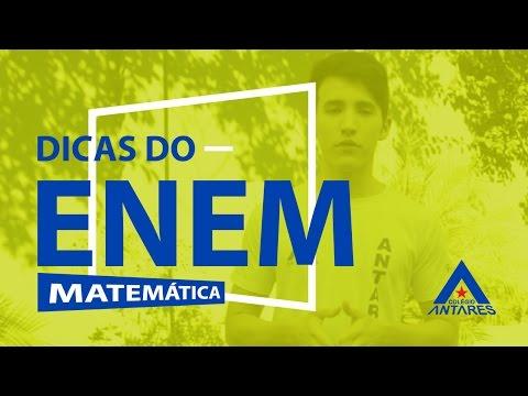 Dicas do Enem #24 - Matemática