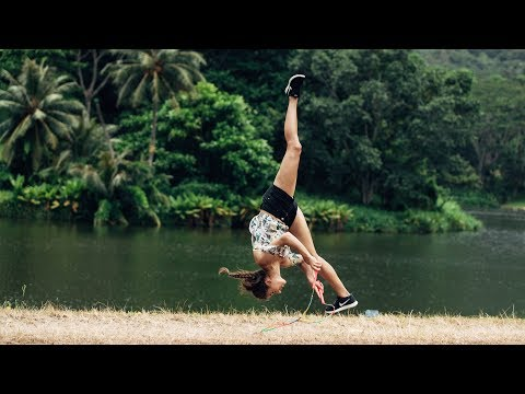 connectYoutube - World's Best Jump Roper - Hawaii Style in 8K
