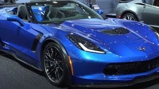Car Tech - 2015 Corvette Z06 Convertible loses its top without giving up on performance