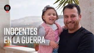 Siria: Hombre inventó un juego para que su hija no le tema a los bombardeos - El Espectador