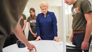 """Prezidentė susitinka su """"Misija Sibiras'17"""" komanda"""