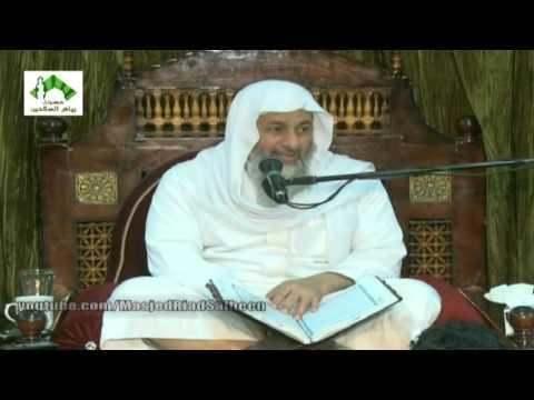 تفسير سورة القصص (من الآية 56 إلى 62) للشيخ مصطفى العدوي 6-3-2016