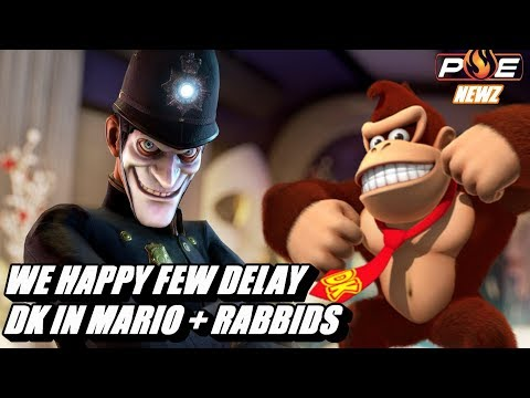 connectYoutube - We Happy Few Delayed to Summer! DK in Mario + Rabbids & MORE!