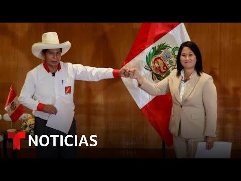 EN VIVO: Abren las urnas en Perú para elegir su próximo mandatario en unas reñidas elecciones