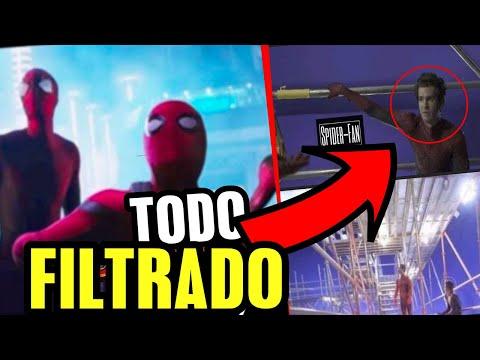 Filtración real de Andrew Garfield y Tobey Maguire confirman Spider Verse No Way Home, trailer