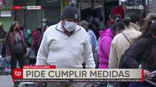 Municipio cruceño dice que todos los vecinos deben asumir rol de cuidarse contra el coronavirus