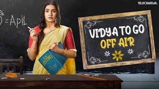 News Alert | Meera and Namish starrer, Colors Vidya goes off-Air | Checkout Details | TellyChakkar - TELLYCHAKKAR