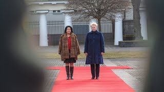 Prezidentė susitinka su Sakartvelo Prezidente Salome Zurabišvili