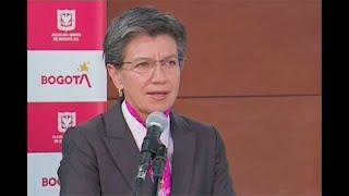 Claudia López dice que mayoría de manifestaciones fueron pacíficas y está firme con sus protocolos