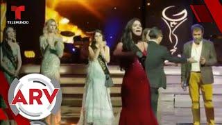Miss Global: Concursante de Colombia denuncia fraude en pleno certamen | Al Rojo Vivo | Telemundo