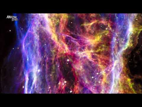 Videos Of Space - Hubble Telescope Zoom In On The Veil Nebula - NASA