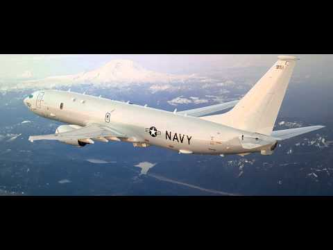 Audio: P-8A Poseidon Conducts Flight Operations over South China Sea