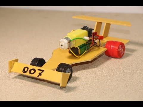 How to make sports car toys for kids - 007 Bugatti Veyron