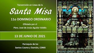 Santa Misa 11o Domingo Ordinario, con el Padre José 09:00 hrs.