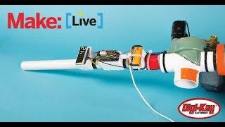 Livestream-Interactive Confetti Cannon
