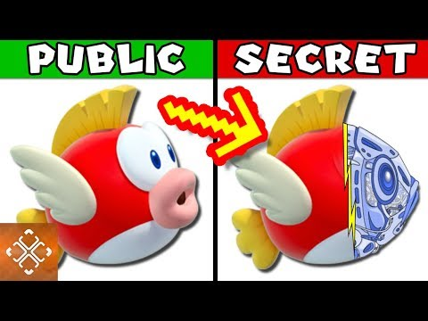 connectYoutube - 10 DARK SECRETS About Cheep Cheep Nintendo Tried To Hide