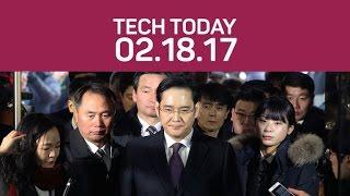 Samsung's top boss arrested