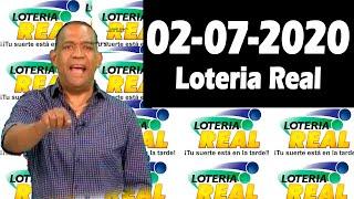 Resultados y Comentarios LOTERIA REAL 02-07-2020 (CON JOSEPH TAVAREZ)