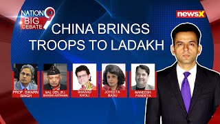CHINA PUSHES TROOPS TO LADAKH | NewsX - NEWSXLIVE