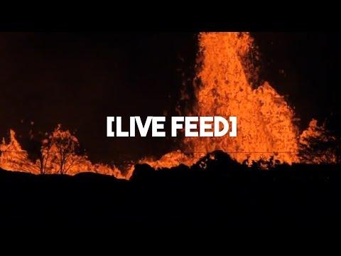 LIVE FEED: Kilauea VOLCANO ERUPTION Puna Hawaii