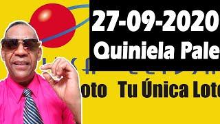 Resultados y Comentarios Quiniela Pale de Leidsa 27-09-2020 (CON JOSEPH TAVAREZ)