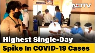 COVID-19 News: Over 20,000 Coronavirus Cases In India In 24 Hours For First Time - NDTV