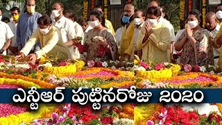 Nandamuri Balakrishna Superb Words About SR NTR | Nandamuri Family Members At NTR Ghat - TFPC