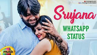 Srujana Thinnava Ra Song WhatsApp Status | Diksha Panth | Raghuram | Latest Telugu Songs 2020 - MANGOMUSIC