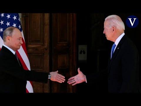 Así ha sido el tenso encuentro entre Biden y Putin