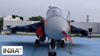 IAF Chief Air Marshal Bhadauria flies LCA Tejas at 2nd squadron induction ceremony - INDIATV