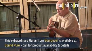 Bourgeois Custom OM 004716 Acoustic Guitar Demo