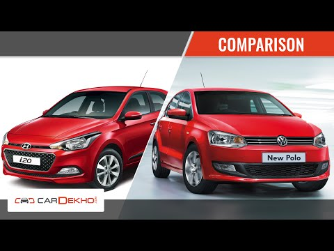 Vw Polo Vs Hyundai Elite I20 Comparison Story Cardekho Com