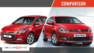 VW Polo Vs Hyundai Elite i20 | Comparison Story | CarDekho.com