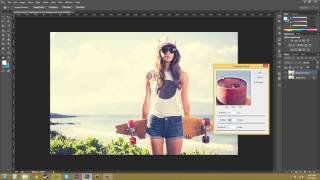 Photoshop CS6 Tutorial - 82 - Unsharp Mask