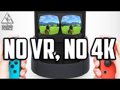 NO VR, NO 4K For Nintendo Switch - New Interview