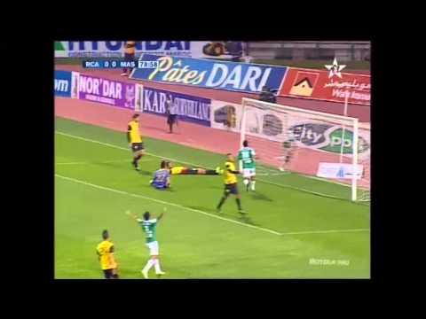 البطولة الوطنية: الرجاء البيضاوي - المغرب الفاسي: 1-0