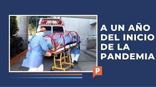 México a un año de la pandemia en números