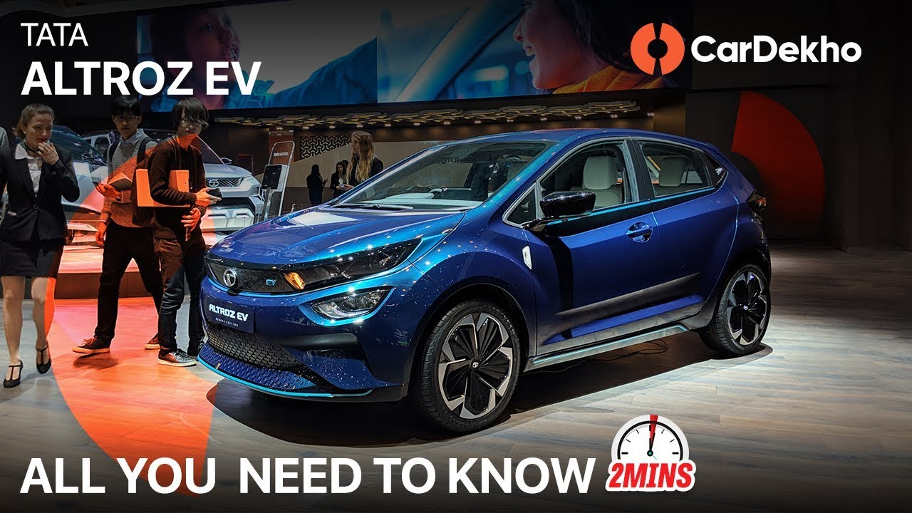 Tata Altroz EV | Range, Expected Price, Launch & Rivals! | #In2Mins | CarDekho.com