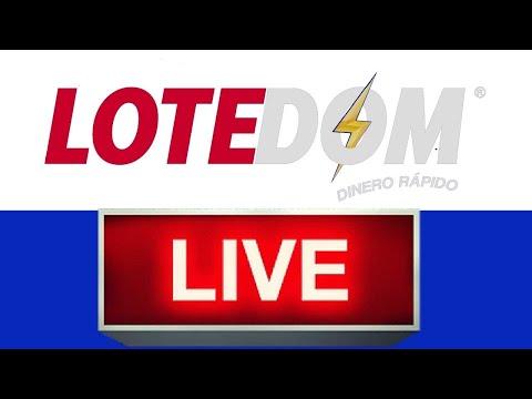 Lotería LOTEDOM Resultados de hoy en vivo