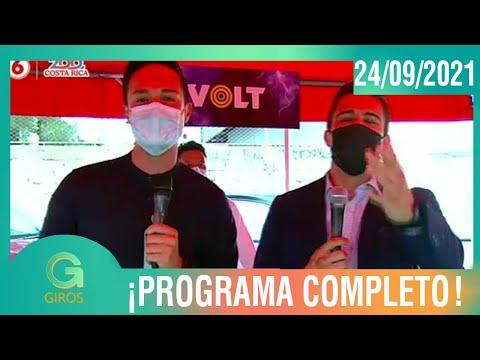 Giros: Programa del 23 de setiembre del 2021