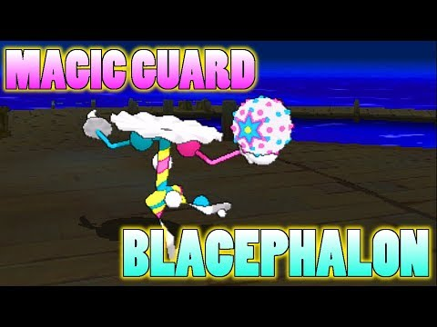 connectYoutube - Does Magic Guard Blacephalon Avoid Recoil From Mind Blown In Pokemon Ultra Sun and Moon?