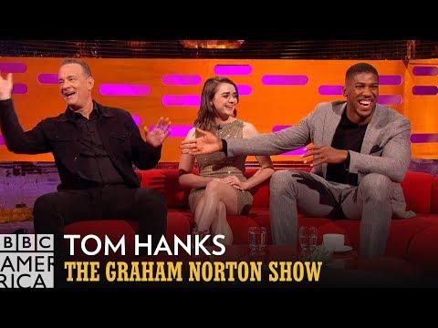 Anthony Joshua Casts Tom Hanks In His Future Biopic  - The Graham Norton Show
