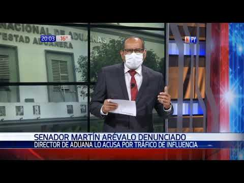 Denuncian a senador Martín Arévalo por presunto tráfico de influencias