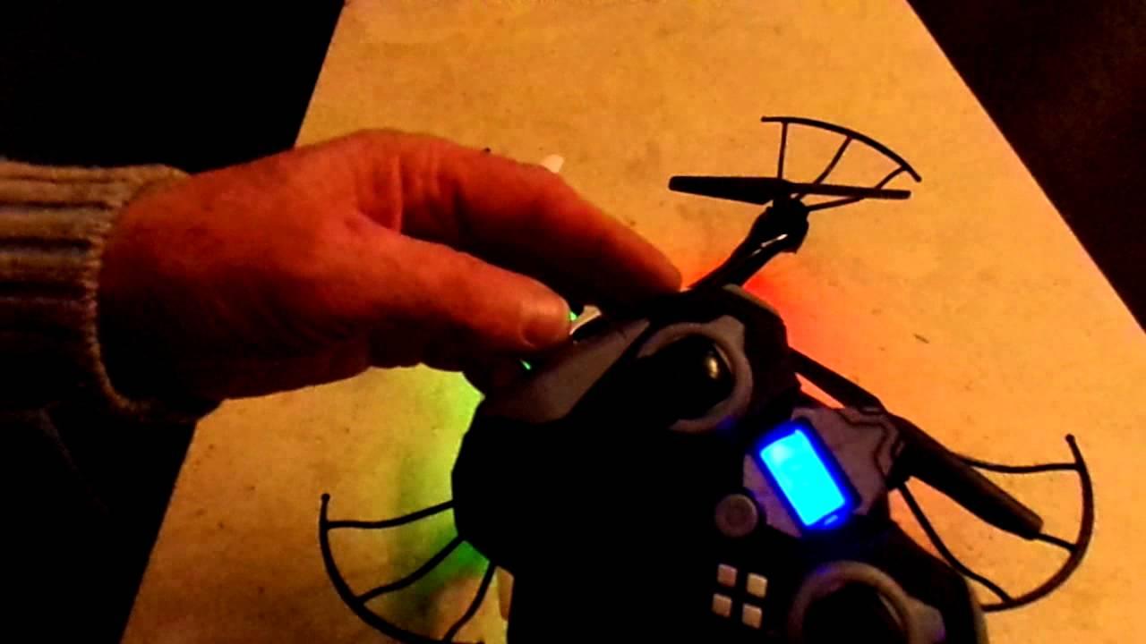 Reinitialiser gyroscope Drone Camera SKYREX GIFI