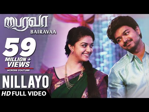 Nillayo Full Video Song With Lyrics, Bairavaa Movie Song