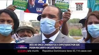 Más de once candidatos a diputados por Santo Domingo Este piden recuento de votos