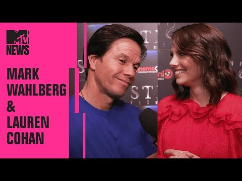 Mark Wahlberg & Lauren Cohan on 'Mile 22' | CinemaCon | MTV News