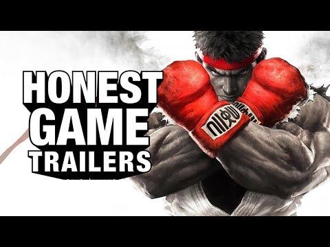 STREET FIGHTER V (Honest Game Trailers)