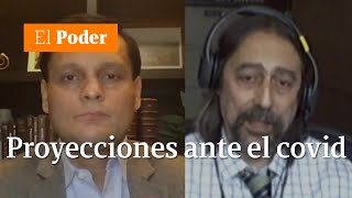 Adolfo García- Sastre y Felipe Lobelo dieron sus proyecciones frente al avance del COVID-19 |