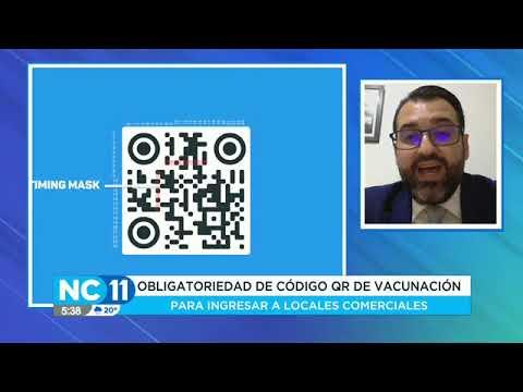Jorge Mora se refirió a la obligatoriedad del código QR de vacunación